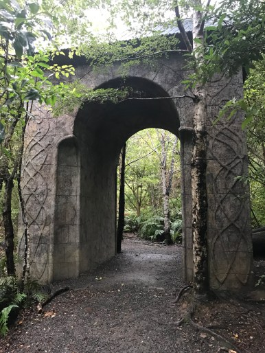 Rivendell film set in Kaitoke Regional Park