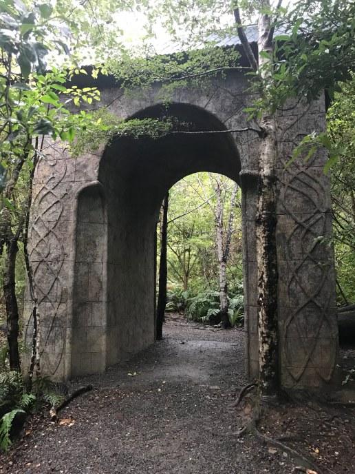 Rivendell film set in Kaitoke Regional Park